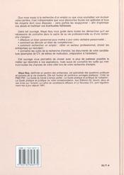 L'Encyclopedie De L'Emploi - 4ème de couverture - Format classique