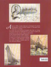 Il Y A Un Siecle Les Plus Beaux Yachts Du Monde - 4ème de couverture - Format classique