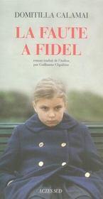 La Faute A Fidel - Intérieur - Format classique