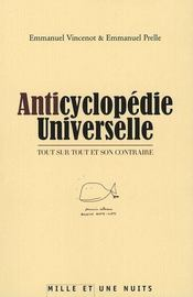 Anticyclopedie Universelle - Intérieur - Format classique