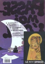 Passe-moi l'ciel t.4 ; nom de dieu - 4ème de couverture - Format classique