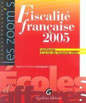 Zoom'S Fiscalite Francaise 2005 - Intérieur - Format classique