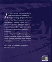 Mémoire de la pêche - 4ème de couverture - Format classique