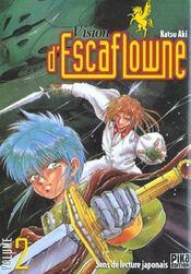 Manga Vision D'Escaflowne 02 - Intérieur - Format classique