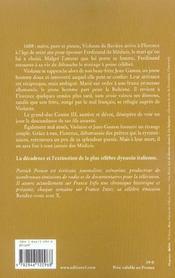 La malédiction des Médicis t.3 ; l'ange de miséricorde - 4ème de couverture - Format classique