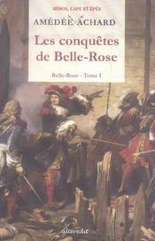 Conquetes De Belle Rose (Les) - Intérieur - Format classique