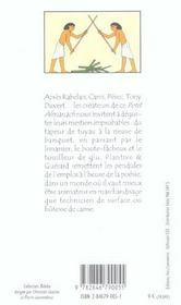 Petit Almanach Des Metiers Improbables Et Disparus - 4ème de couverture - Format classique