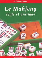 Mahjong Regle Et Pratique - Intérieur - Format classique