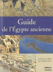 Guide De L'Egypte Ancienne - Intérieur - Format classique