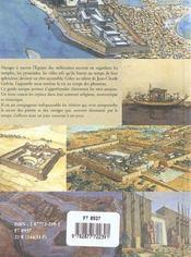 Guide De L'Egypte Ancienne - 4ème de couverture - Format classique