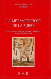 Métamorphose de la suisse - Couverture - Format classique