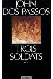 Trois Soldats - Couverture - Format classique