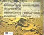 Sahara. Visions D'Un Explorateur De La Memoire Rupestre - 4ème de couverture - Format classique