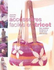 Accessoires faciles en tricot - Intérieur - Format classique