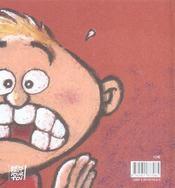 La dent - 4ème de couverture - Format classique