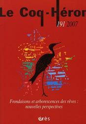 Coq Heron 191 - Frondaisons Et Arborescences Des Reves : Nouvelles Perspectives - Intérieur - Format classique