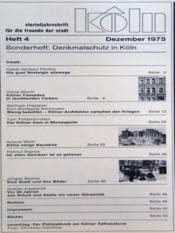 Koln N°4 du 01/12/1975 - Intérieur - Format classique