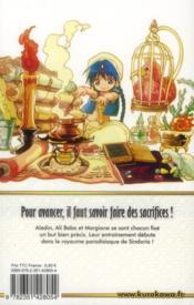Magi t.9 - 4ème de couverture - Format classique