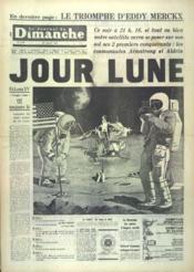 Journal Du Dimanche (Le) N°1182 du 20/07/1969 - Couverture - Format classique