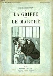 La Griffe Suivi De Le Marche. - Couverture - Format classique