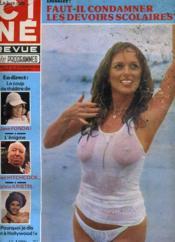 CINE REVUE - TELE-PROGRAMMES - 59E ANNEE - N° 47 - GROS PLAN: l'amitié d'un serpent contre l'amour d'une femme - Couverture - Format classique