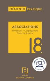Vente  Mémento pratique ; associations (édition 2018)  - Collectif