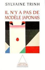 Il n'y a pas de modèle japonais - Couverture - Format classique