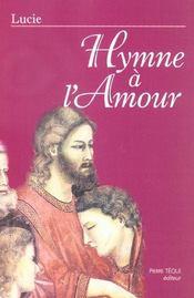 Hymne A L'Amour - Intérieur - Format classique