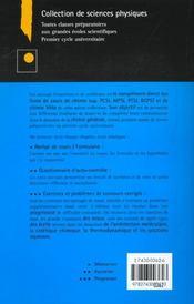 Exercices et problemes de chimie generale superieure ; 2e edition - 4ème de couverture - Format classique
