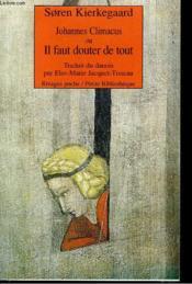 Johannes Climacus - Couverture - Format classique