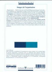 Images de l'organisation - 4ème de couverture - Format classique