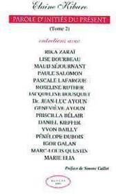 Parole D'Inities Du Present - T. 2 - Couverture - Format classique