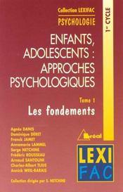 Enfants Ados:Approches Psych. Lexifac 1 - Intérieur - Format classique