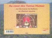 Au coeur des Tumuc Humac - 4ème de couverture - Format classique