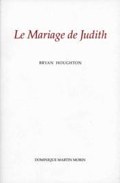 Le Mariage De Judith - Couverture - Format classique