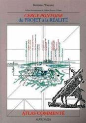 Cergy Pontoise Atlas Commente - Couverture - Format classique