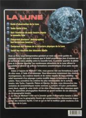 La lune ; un guide d'observation pour l'astronome amateur - 4ème de couverture - Format classique