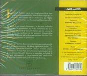 La Prophetie Des Andes - 4ème de couverture - Format classique