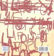 La fois où... - 4ème de couverture - Format classique