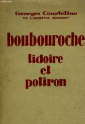 Boubouroche. Lidoire Et Potiron. - Couverture - Format classique