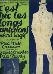 C'Est Chic Les Longs Pantalons - Piano Et Chant. - Couverture - Format classique