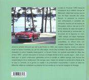 La Renault Floride & Caravelle de mon père - 4ème de couverture - Format classique