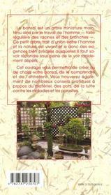 Bonsai ( Acheter, Creer, Entretenir Son ) - 4ème de couverture - Format classique