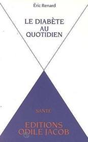 Diabete Au Quotidien - Couverture - Format classique