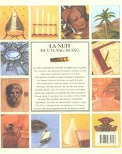 La nuit de l'ylang ylang - 4ème de couverture - Format classique