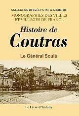 Coutras (Histoire De) - Couverture - Format classique