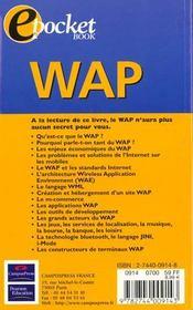 Wap - 4ème de couverture - Format classique