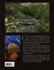 En Provence ; sur le chemin des légendes - 4ème de couverture - Format classique