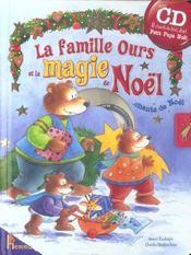 La famille ours et la magie de noël - Intérieur - Format classique