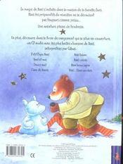 La famille ours et la magie de noël - 4ème de couverture - Format classique